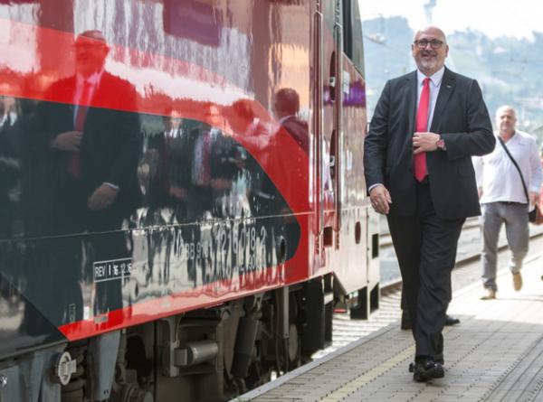 Jakob Gruber / Brennerbahn / Zum Vergrößern auf das Bild klicken
