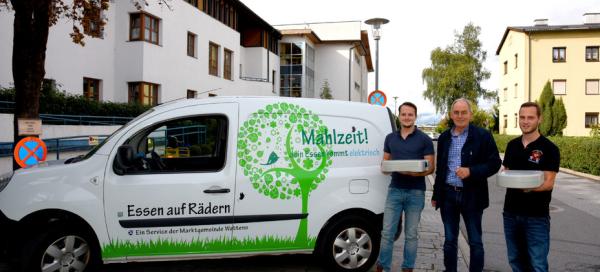 Manfred Sillaber / Essen auf Rädern Wattens / Zum Vergrößern auf das Bild klicken