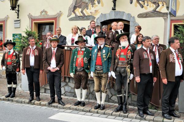 Benny Klotz / Ötztaler Bataillonsfest 2018 / Zum Vergrößern auf das Bild klicken