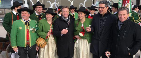 Thomas Saurer / Angelobung Bundespräsident / Zum Vergrößern auf das Bild klicken