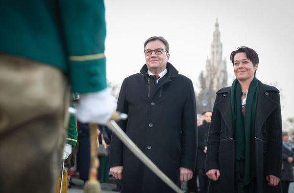 Land Tirol /Karlovits / Bundesratspräsidentschaft / Zum Vergrößern auf das Bild klicken