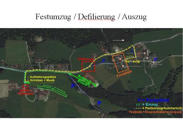 Schützenkompanie Gnadenwald / Bezirksfest Gnadenwald / Zum Vergrößern auf das Bild klicken