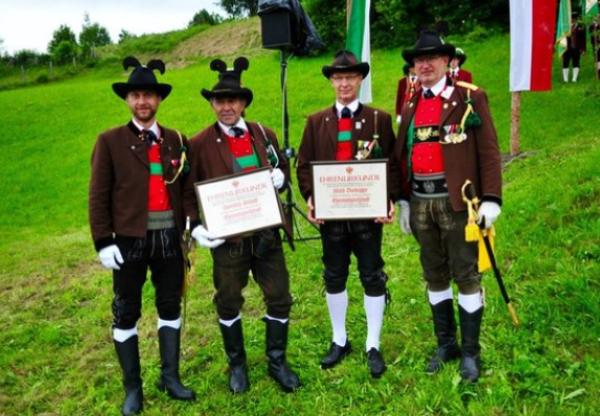 Manfred Hassl / Bataillonsschützenfest Lans / Zum Vergrößern auf das Bild klicken