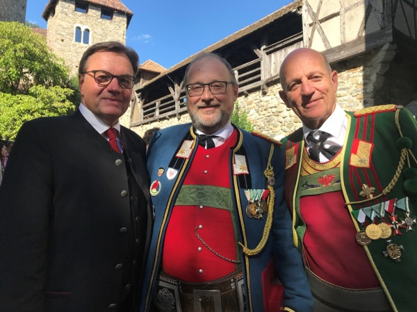 Land Tirol / Verdienstkreuz Röck / Zum Vergrößern auf das Bild klicken