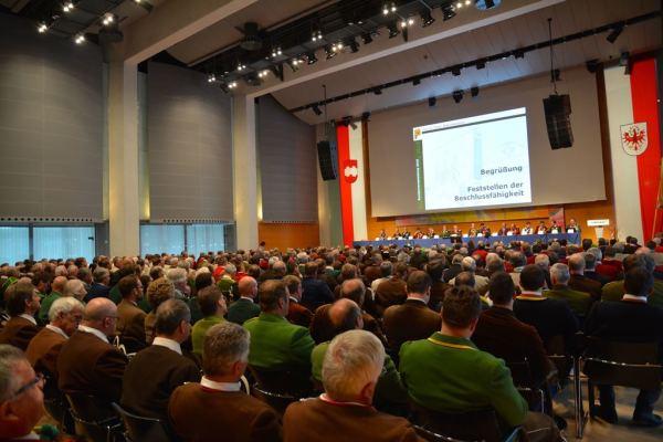 Hans Gregoritsch / Ankündigung Bundesversammlung / Zum Vergrößern auf das Bild klicken