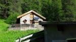 Schützenkompanie Strengen / Alphütte Gampernun / Zum Vergrößern auf das Bild klicken