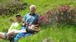 Schützenkompanie Strengen / Zeit für die Schönheit der Natur (Olt. Gander Stefan (SK Schluderns) und Hiesel Othmar (SK Strengen) / Zum Vergrößern auf das Bild klicken