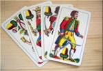 Siegele Otto / jasskarten / Zum Vergrößern auf das Bild klicken